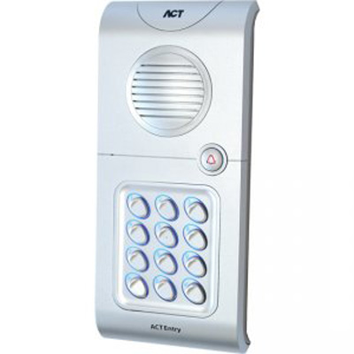 ACTentryA5-EP audio door entry with up to 4 intercoms
