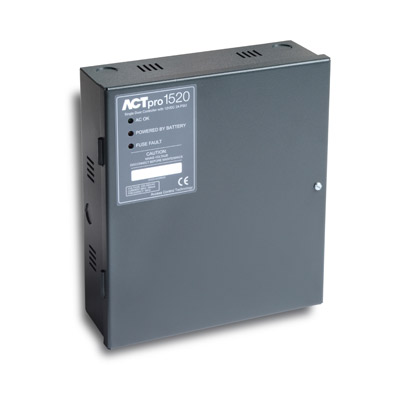 New ACTpro 1520 and 120 - with integrated PSU