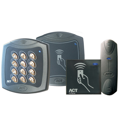 ACT launches range of MIFARE DESFire EV1 Readers for use with the ACTpro access control solution