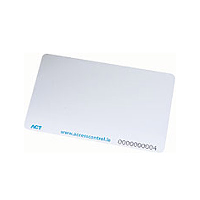 The ACTProx ISO Card - a printable card for use with ACTsmart2, ACTpro-X ranges