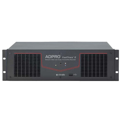 ADPRO 55000100 - 4 channel 500 GB FastTrace 2 hybrid with 8 monitored I/P. 4 relay o/P, 1 comms. & No DTC