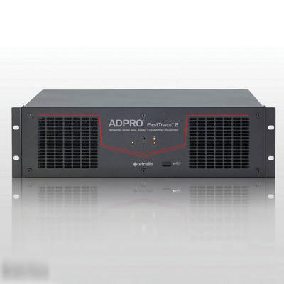 ADPRO 56101110 - 8 CH 500 GB FrastTrace 2x Hybrid network video recorder and transmitter with 8 monitored inputs and DTC