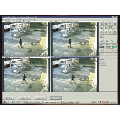 ADPRO VCSW-1-USB CCTV software