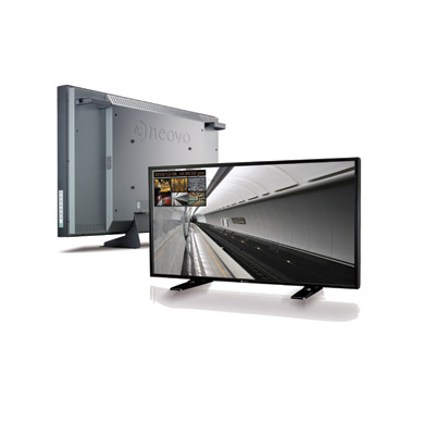 """AG Neovo RX-W42 Full HD, full-featured 42"""" display protected by NeoVTM Optical Glass and Anti-Burn-inTM technology designed for the bestrun professional 24/7 security environments"""