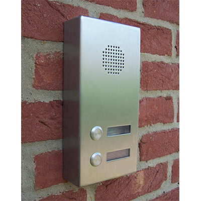 Aiphone AMP-LE-S/2  2 button surface sub audio panel