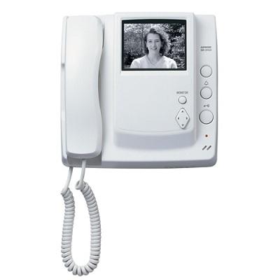 Aiphone MK-2HCD black & white sub station with monitor/handset, pan & tilt