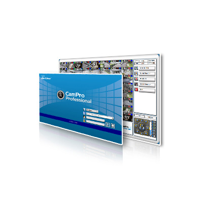 AirLive Campro Professional is professional intelligent video surveillance software
