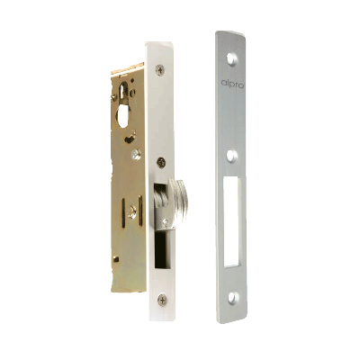 Alpro 5222025 mechanical digital lock with stainless steel laminated lockbolts