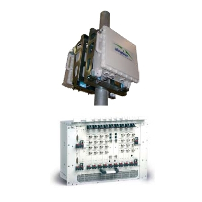 Alvarion BreezeMAX Base Station is a carrier-class WiMAX 802.16e certified platform for fixed, nomadic and mobile wireless access
