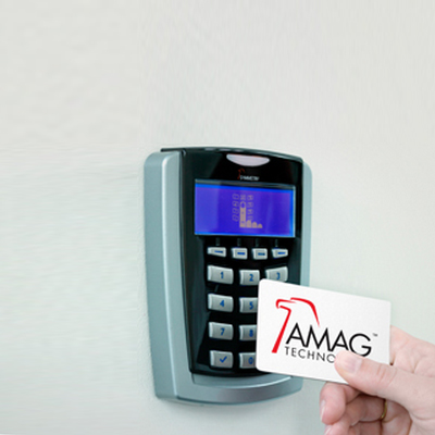 AMAG Javelin S884-KP Contactless Smart Card Reader