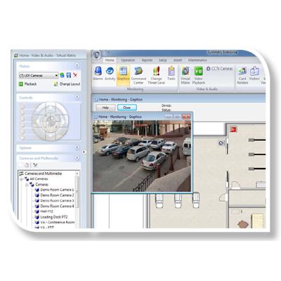 AMAG Symmetry Enterprise access control software
