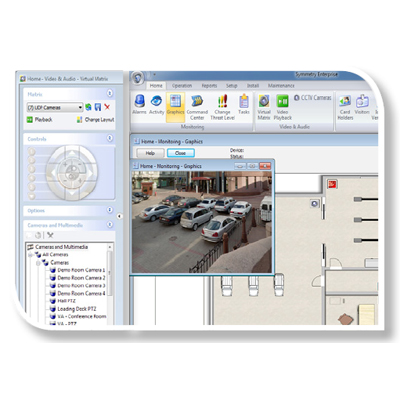 AMAG Symmetry Homeland access control software