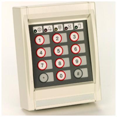 AMAG Symmetry S840-KP keypad proximity reader