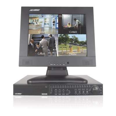 American Dynamics ADEDVR009064 9 channel DVR