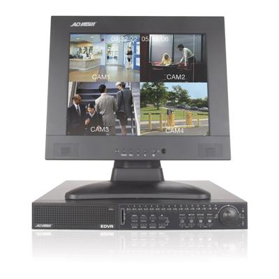 American Dynamics ADEDVR009080 9 channel DVR