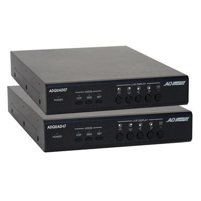 American Dynamics ADQUAD87 CCTV quad