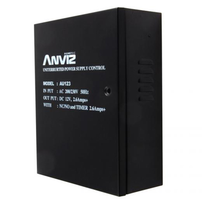 Anviz Global AU123 electric lock power supply