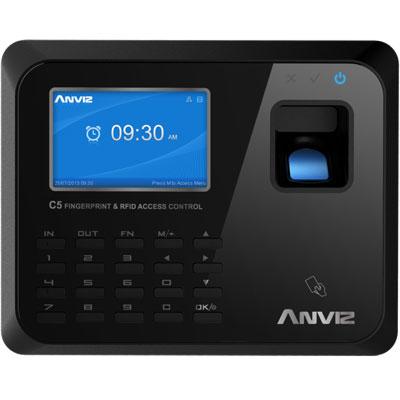 Anviz Global C5 fingerprint & RFID access control system