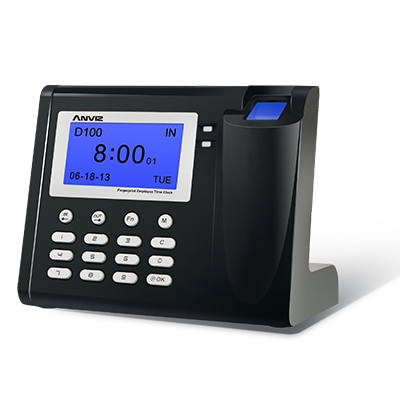 Anviz Global D100 fingerprint time attendance system