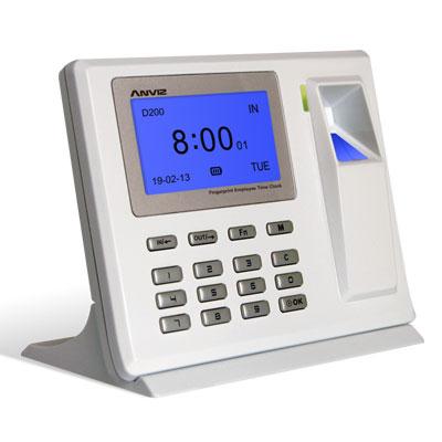 Anviz Global D200 fingerprint time attendance