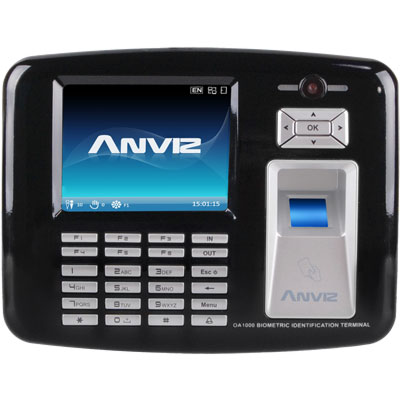 Anviz Global OA1000 multimedia fingerprint & RFID terminal