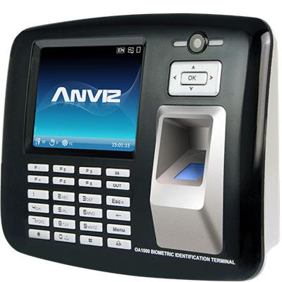Anviz Global OA1000 Mercury Multimedia Finerprint & RFID Terminal
