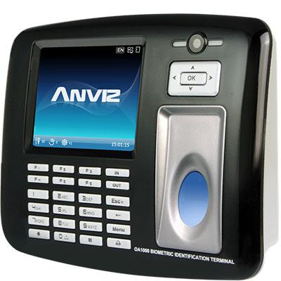 Anviz Global OA1000 URU multimedia fingerprint & RFID terminal