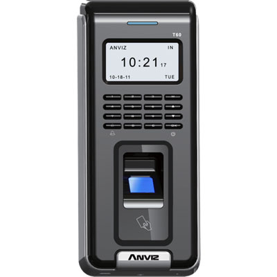 Anviz Global T60 fingerprint access control system