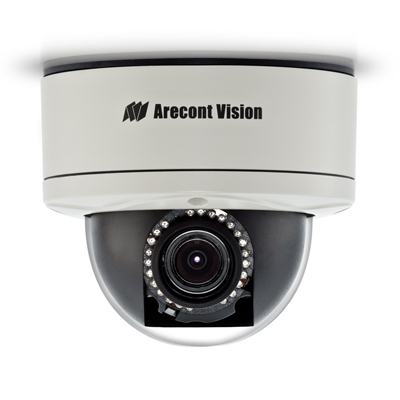 Arecont Vision AV1255AMIR-H 1.3MP true day/night IR IP dome camera with heater