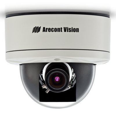Arecont Vision AV1255DN-H 1.3MP True Day/night IP Dome Camera With Heater
