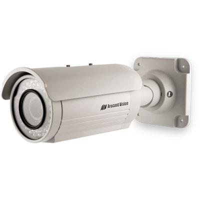 Arecont Vision AV2125IRv1x megapixel vandal resistant bullet IP camera