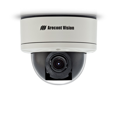 Arecont Vision AV3256PM-A 3MP WDR P-iris day/night IP dome camera