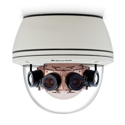 Arecont Vision AV40185DN-HB day/night 40 MP IP dome camera