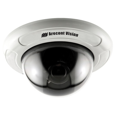 Arecont Vision D4F-AV3115-3312 Varifocal and D4F Flush Mount Indoor Dome