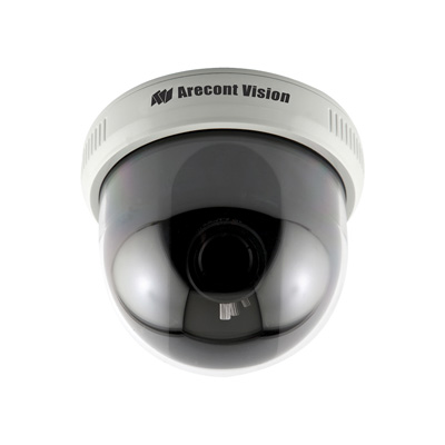 Arecont Vision D4S-AV1115v1-3312 - Varifocal Lens and D4S Surface Mount Indoor Dome