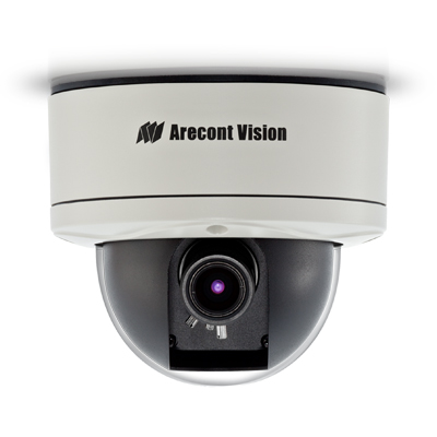 Arecont Vision D4SO-AV2116DNv1-3312 1080p, day/night, WDR, Casino mode IP dome camera