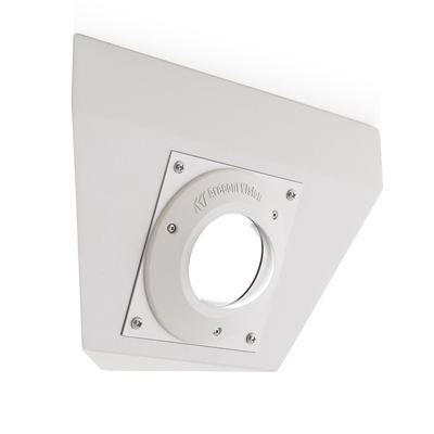 Arecont Vision MCD-CRMT corner wall mount for MicroDome series surface mounted cameras
