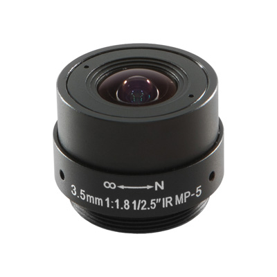 Arecont Vision MPL3.5 Megapixel Fixed-focal Series Lenses