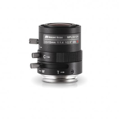 Arecont Vision MPL33-12A Megapixel Camera Lens With 3.3 ~ 12 Mm Focal Length