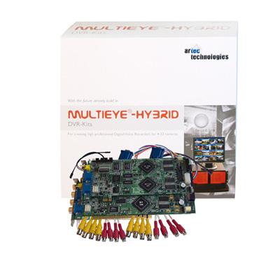 artec 16200/8 MULTIEYE®-HYBRID DVR kits