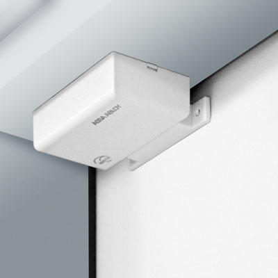 The new Aperio™ wireless door position sensor provides instant information on a system's security status