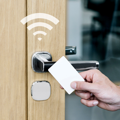 The new Aperio® H100 packs the power and flexibility of wireless access control into one & Electronic Locks For Door Access Control | Electronic Locking ...