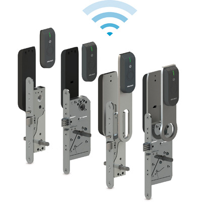 ASSA ABLOY - Aperio™ L100 FINN Electronic Lock With Standard RFID-reader