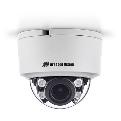 Arecont Vision AV02CID-100 1080p H.265/H.264 All-in-One Motorised Lens True Day/Night Indoor Dome IP Camera