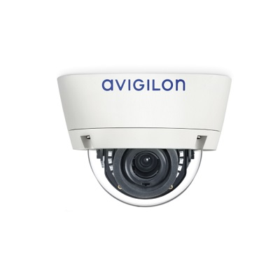 Avigilon 1.0C-H3A-D1 indoor dome camera with self-learning video analytics
