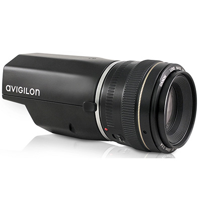 Avigilon 12L-H4PRO-B 4.5K (12 MP) H.264 Pro Colour Camera With Self-Learning Video Analytics