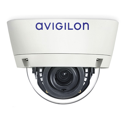 Avigilon 2.0C-H4A-DP1 outdoor dome camera with self-learning video analytics
