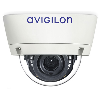Avigilon 3.0W-H3-D1-IR 3.0 Megapixel WDR Day/Night H.264 HD 3-9 mm Indoor Dome Camera With IR Illuminator