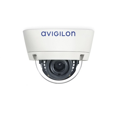 Avigilon 8.0-H4A-DP1-IR H4 HD outdoor dome camera with self-learning video analytics