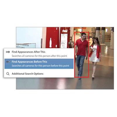 Avigilon Appearance Search video analytics technology